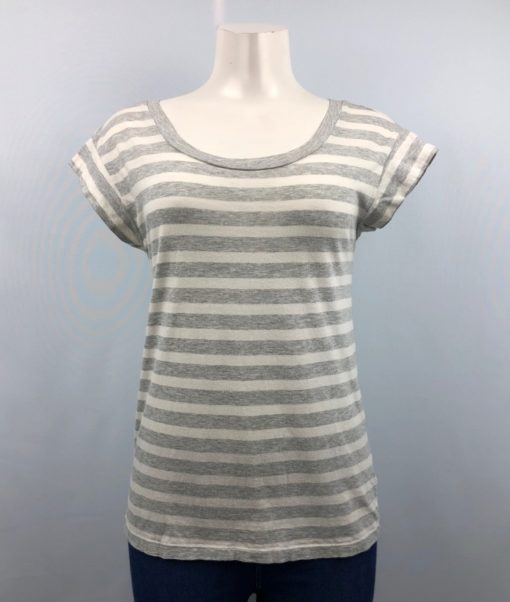 Gap Stripe Scoop-Neck Top Size XS