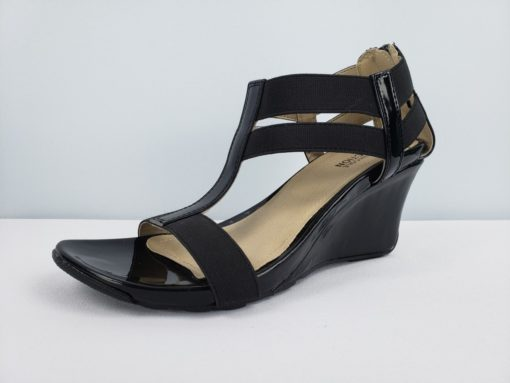 Kenneth Cole Reaction Black Sandals Size 7.5