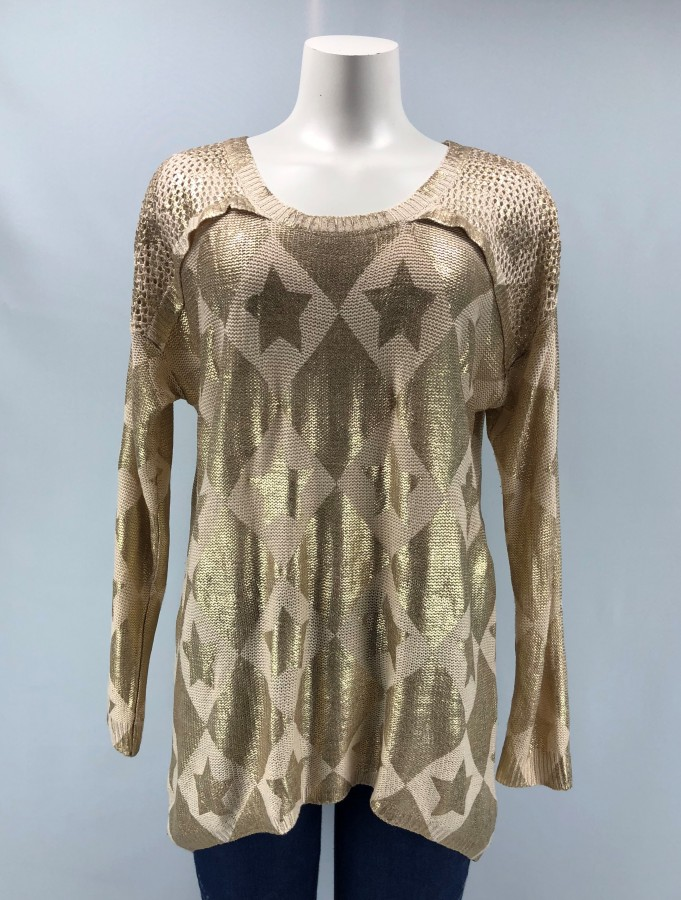 Young Threads Printed Top Size L