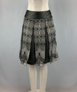 Coupe Collection Printed Skirt Size S