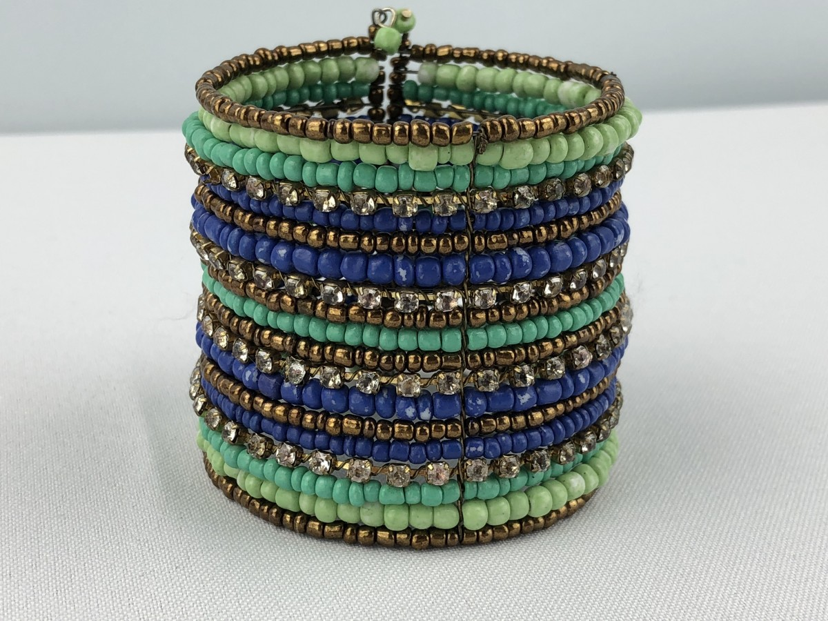 Assorted Color Beaded Bracelet