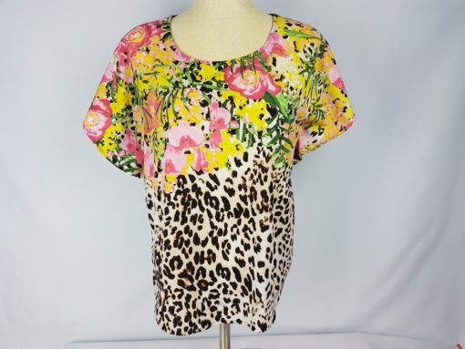 Jacklyn Smith Flower Top Size S