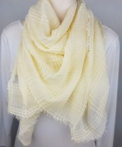 Ivory Square Scarf