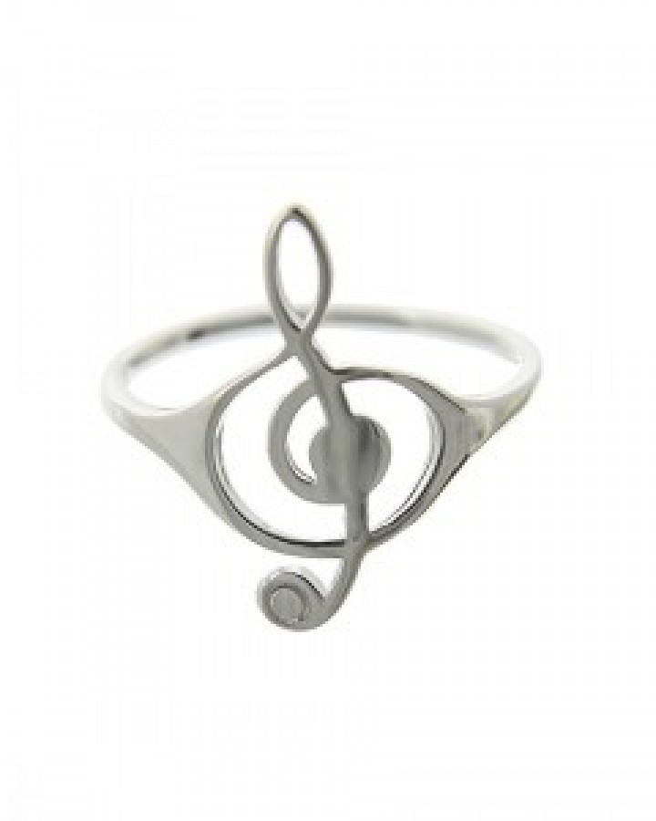 Music Note Ring Size 7