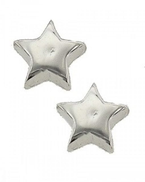 Star 925 Sterling Silver Earrings