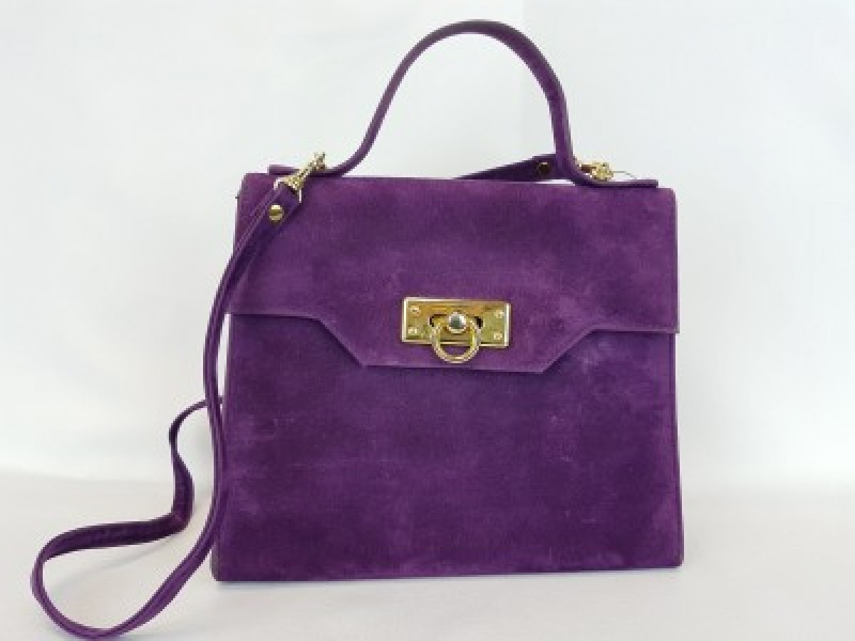 Purple Vintage Purse
