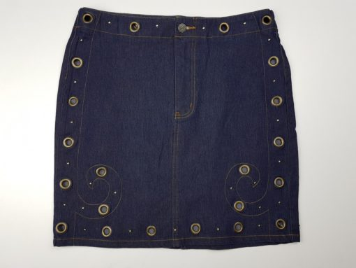 Y.O.Y.O You're On Your Own Denim Skirt Size M