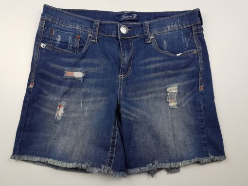 even7 Ripped Denim Shorts Size 8